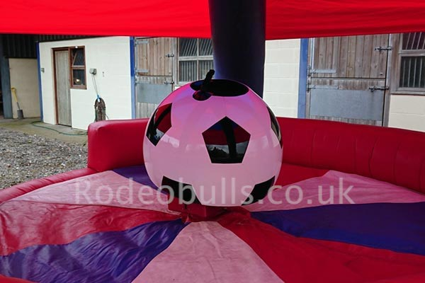 Football Rodeo Ride for hire from rodeobulls.co.uk.