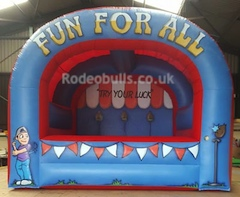 Traditional Side Stall games for hire from Rodeobulls.co.uk